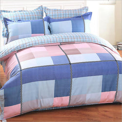Two Sides Different Colors Bedding Set Sheet Duvet Cover Set-Beddings-StyloMylo World