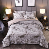 USA Cotton Geometric  Printed Fashion Duvet Cover set King Queen Duvet Clothes Set Without filling and Bedsheet