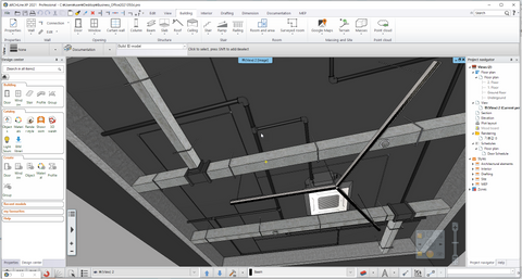 Ceiling Plan of Office _ ARCHLine.XP file