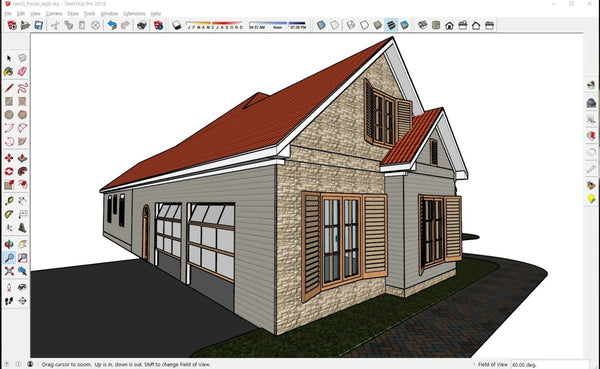 Ranch_house_BIM_file - Digital file