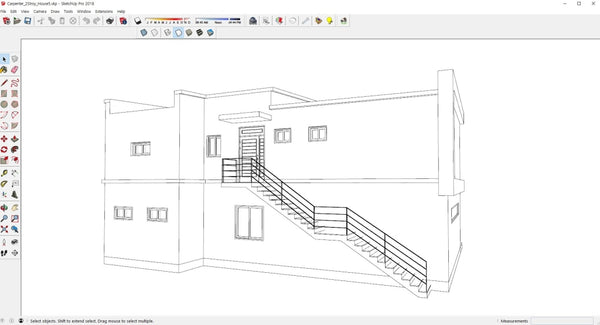 2Story_House5 - Digital file