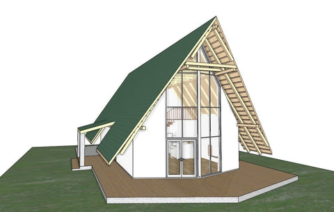 Log_Cabin_CAD/BIM file - Digital file