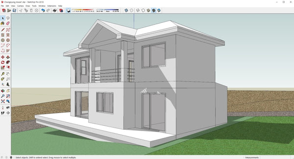 Chungpyung_House1 - Digital file