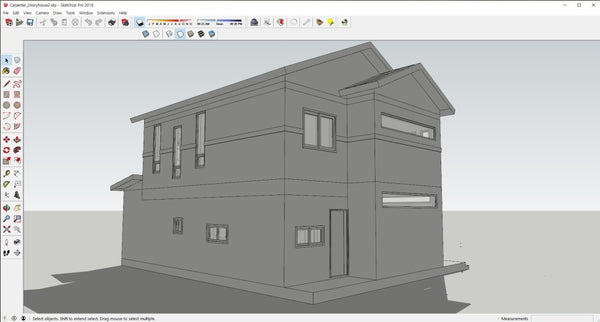 2sotry_house2_skp - Digital file