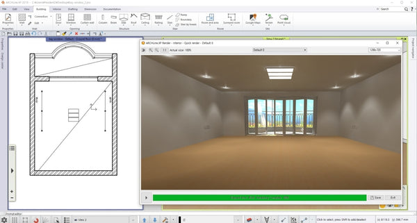 BasicRoom_BIM_file - Digital file