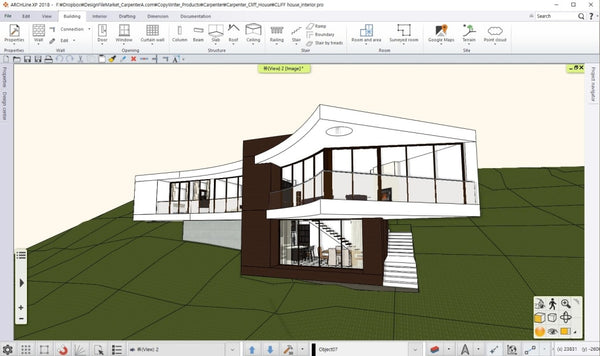 Cliff_House_BIM_file - Digital file