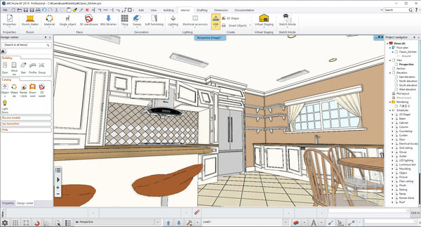 Classic Kitchen BIM file