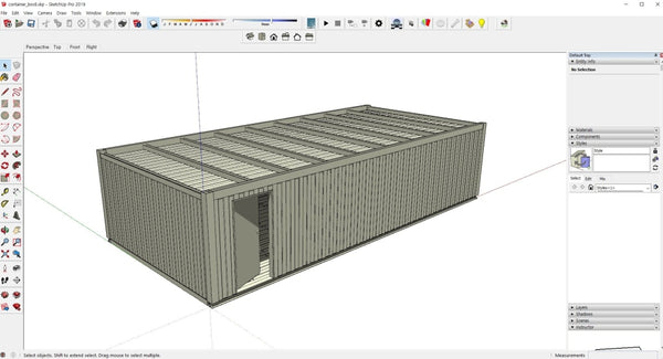 container box sample - Digital file