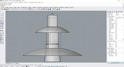 Pendant Light Model - Digital file