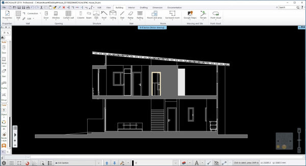 H hose BIM Plan- DWG file and Pro file - Digital file
