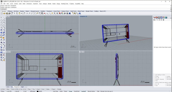 LG TV design file with Rhino3D and skp file - Digital file