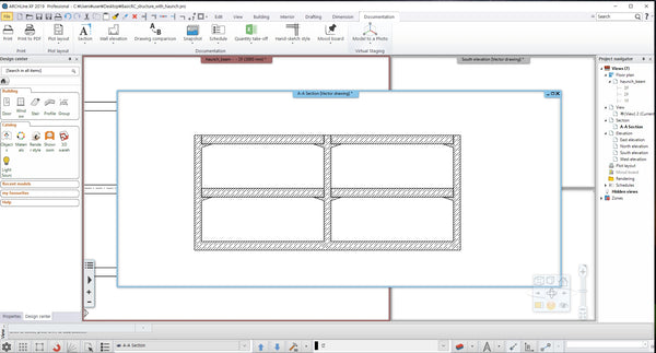 Basic RC structure with Haunch_ BIM file