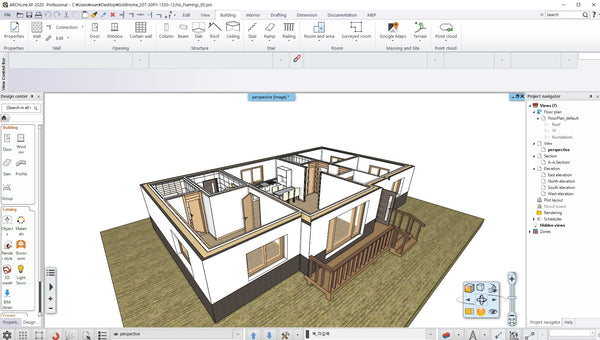 GoldHome Poeple House  BIM file _2020_model