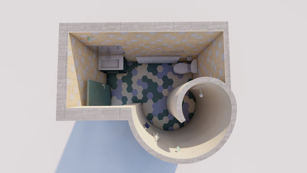 Curved Toilet _lumion file