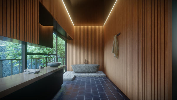 Bathroom design of Lumion 10