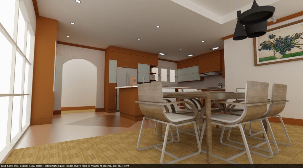 Kitchen_sample2_Podium 2.5 setting Ready - Digital file