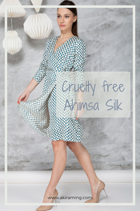 Ahimsa Silk : Non violent and Cruelty free Silk
