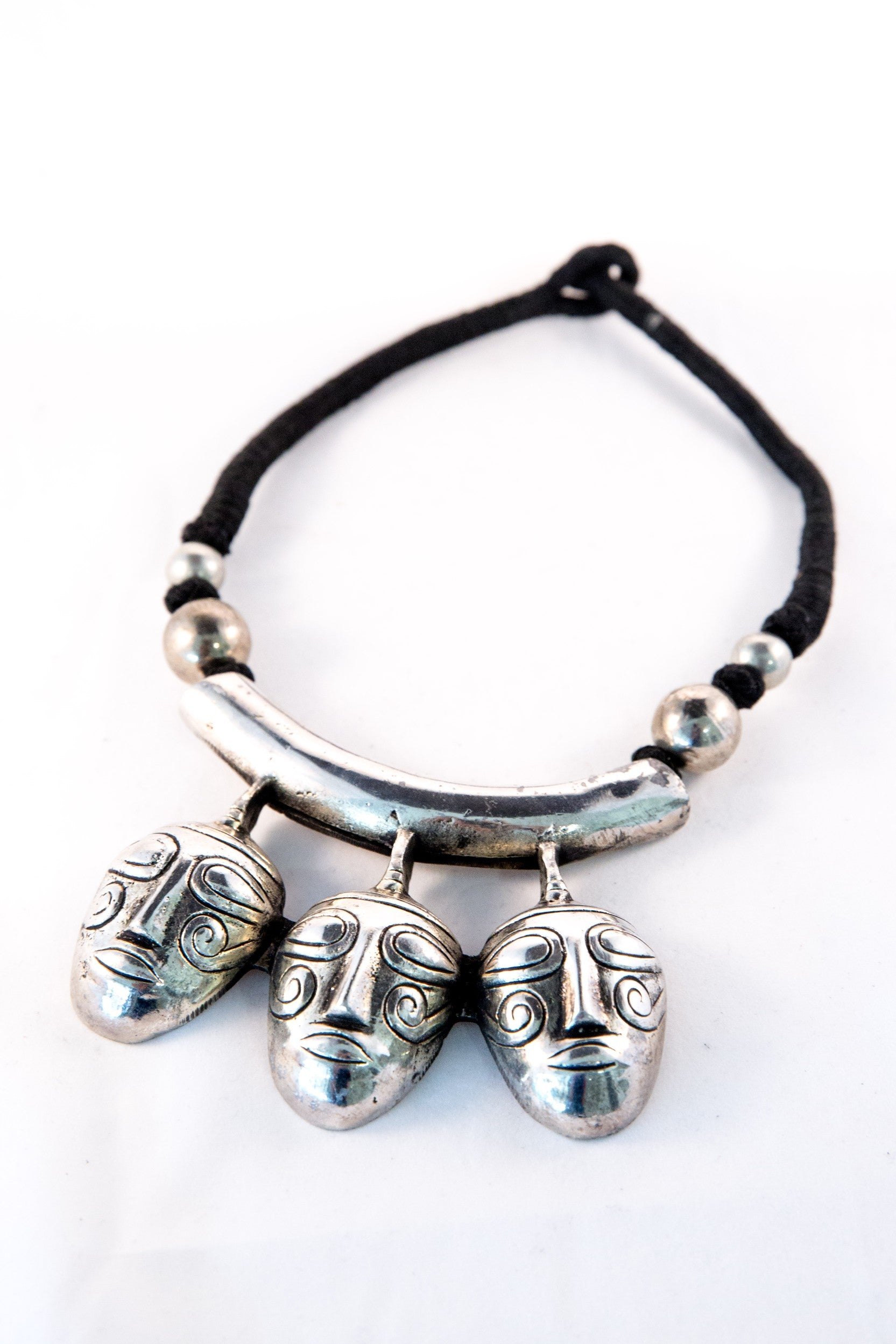 Voodoo Necklace - Silver