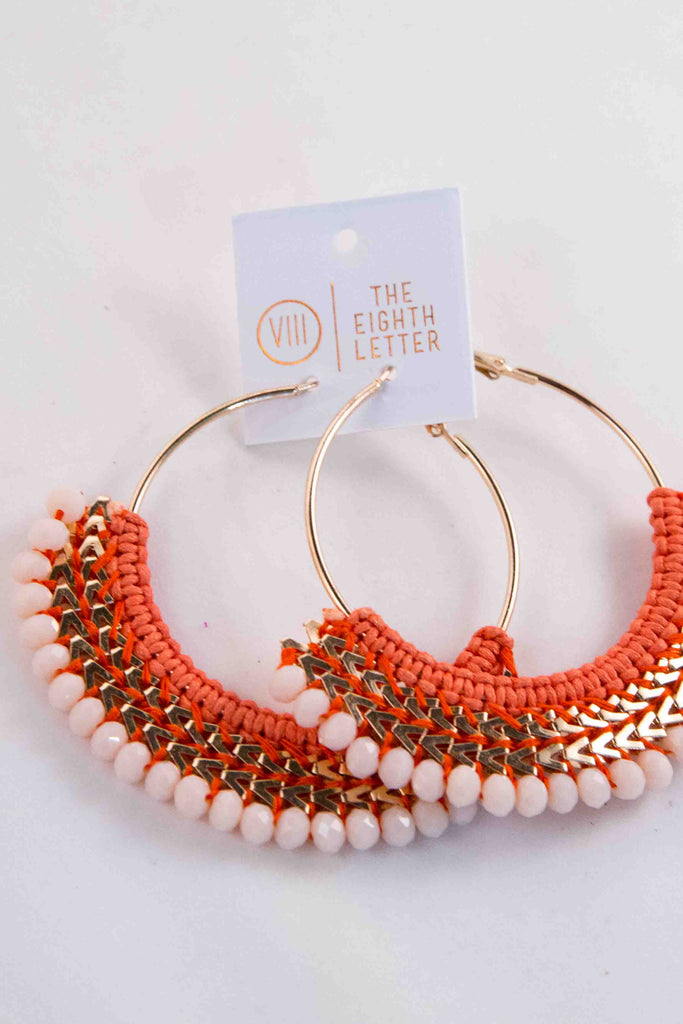 Elio Earring - Orange