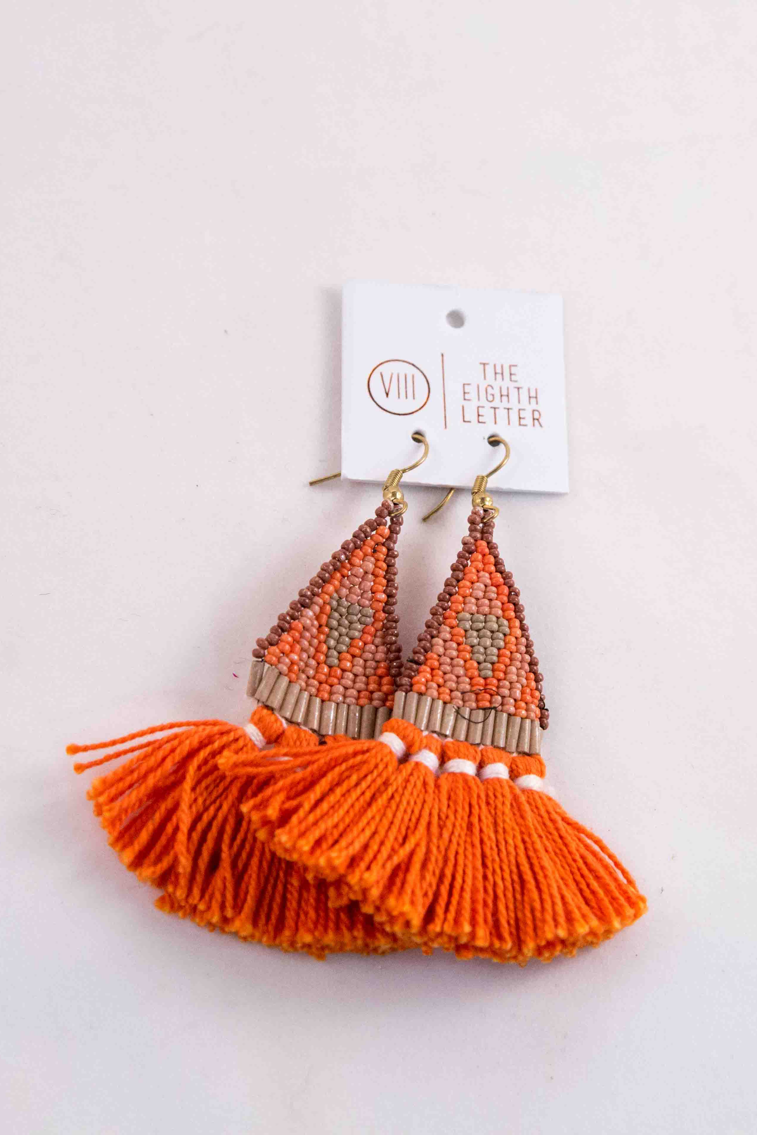 Cyrus Earring - Orange