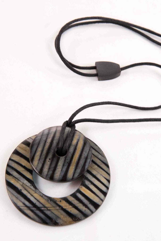 Zambia Necklace - Black