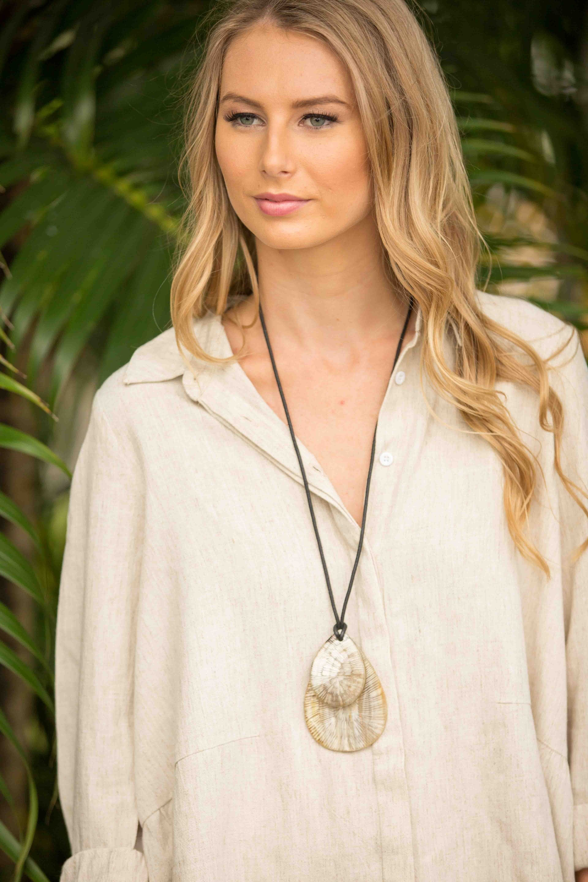 Maroko Necklace - Sand