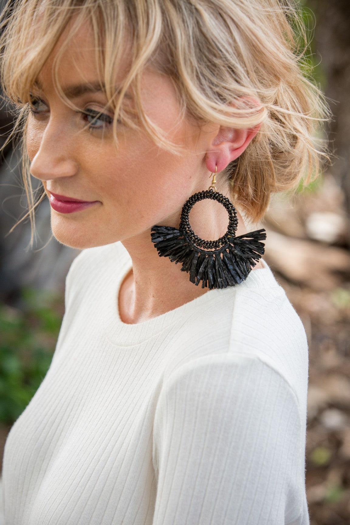 Zuri Earring - Black