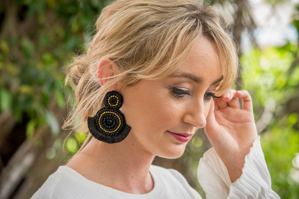 Aria Earring - Black