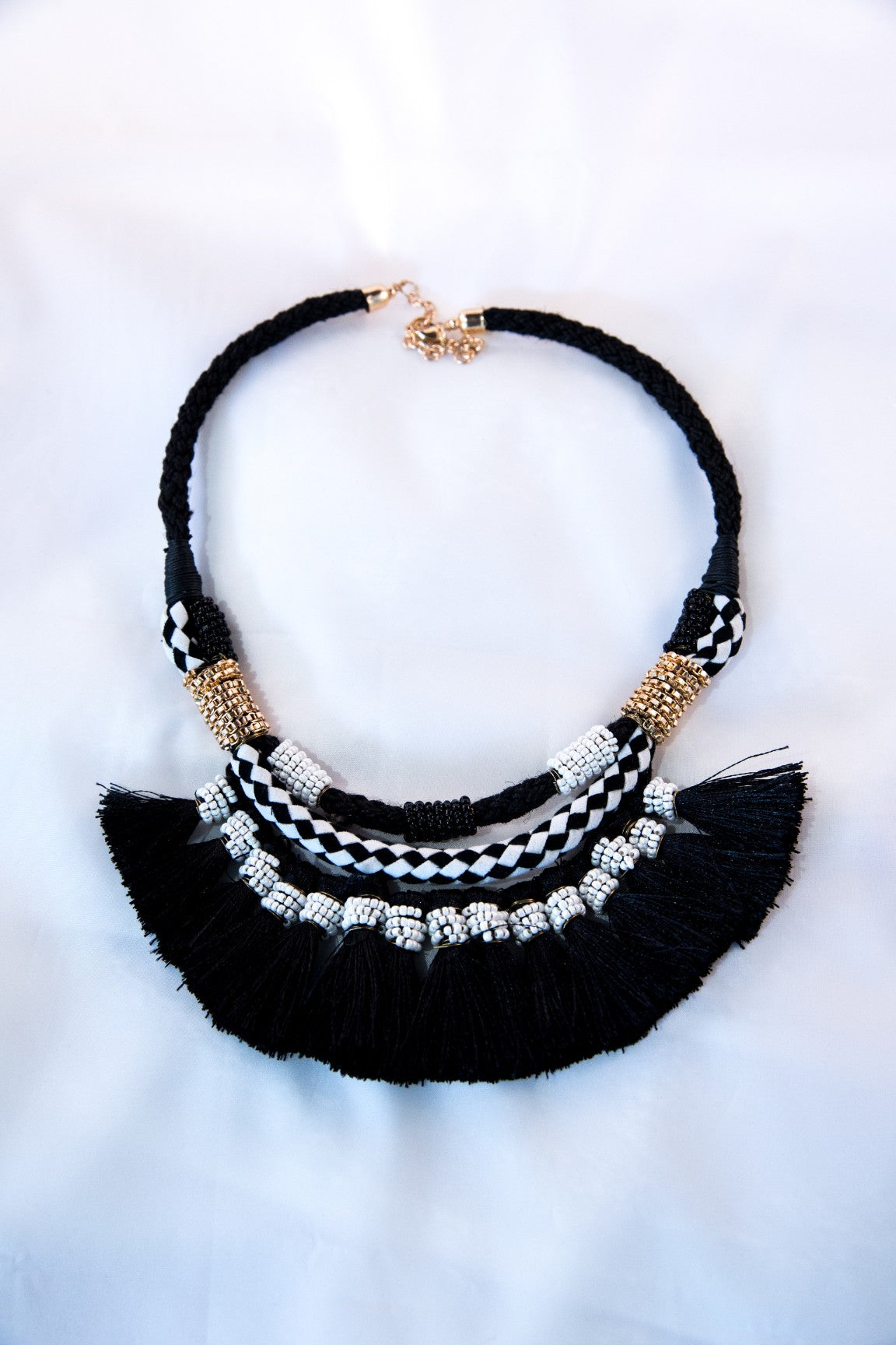Knox Necklace - Black