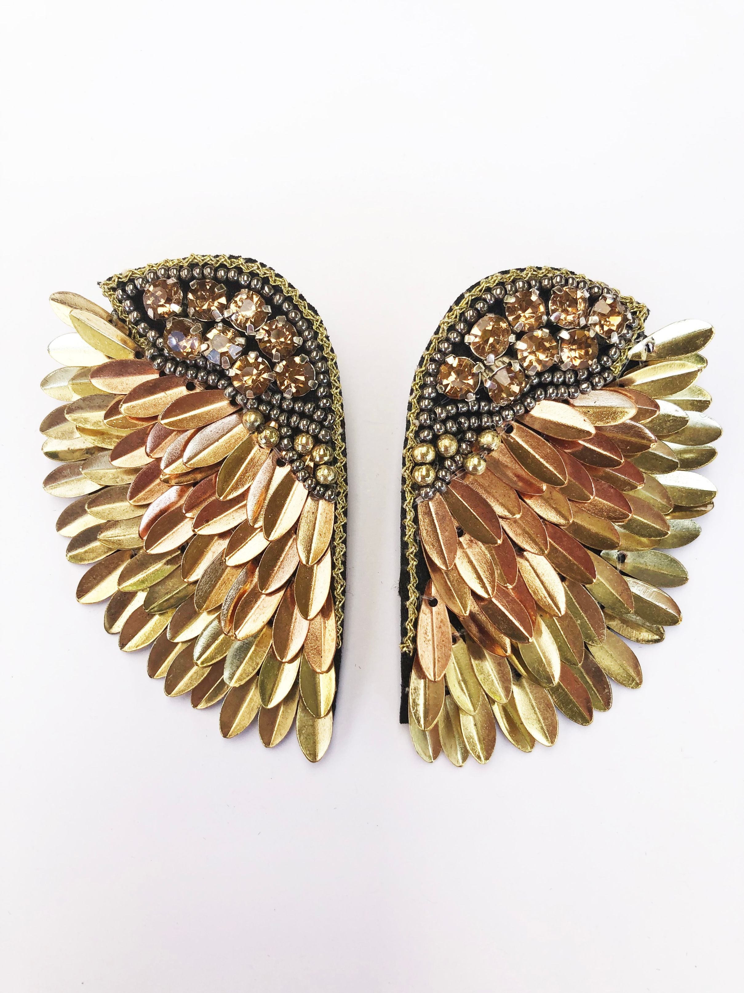 Angel Wings Earring - Gold