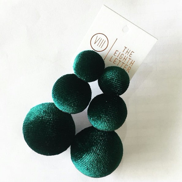 Belle Of Ball Earring - Olive