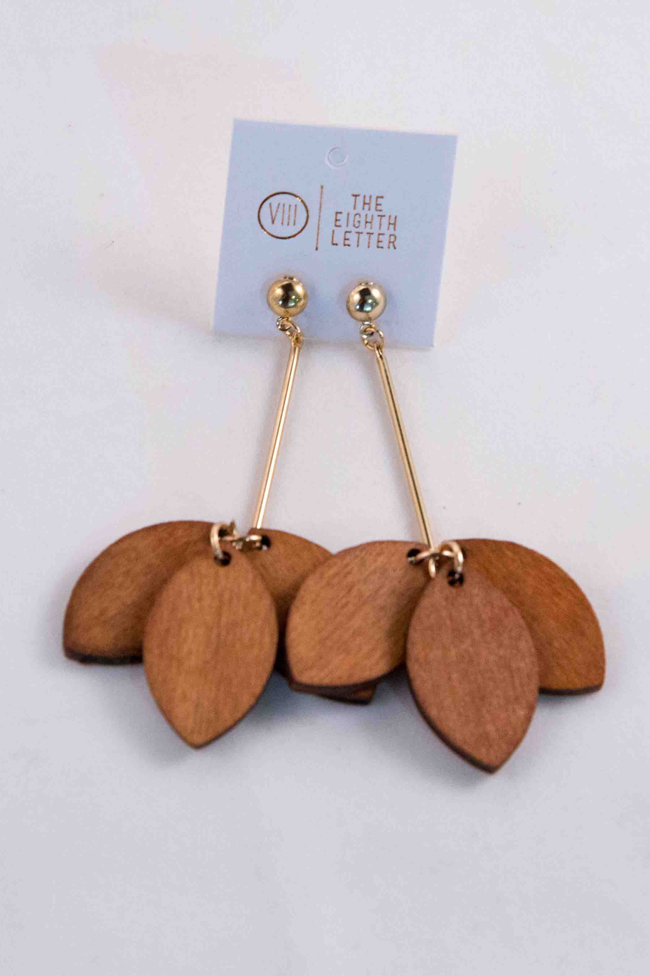 Autumn Earring - Sand