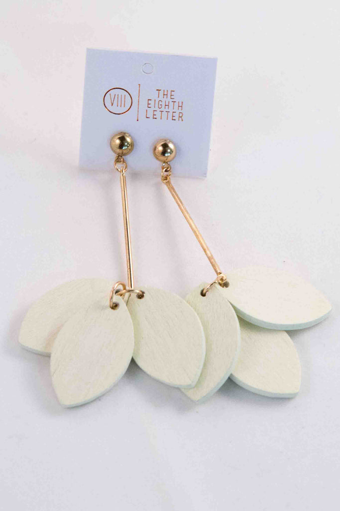 Autumn Earring - White