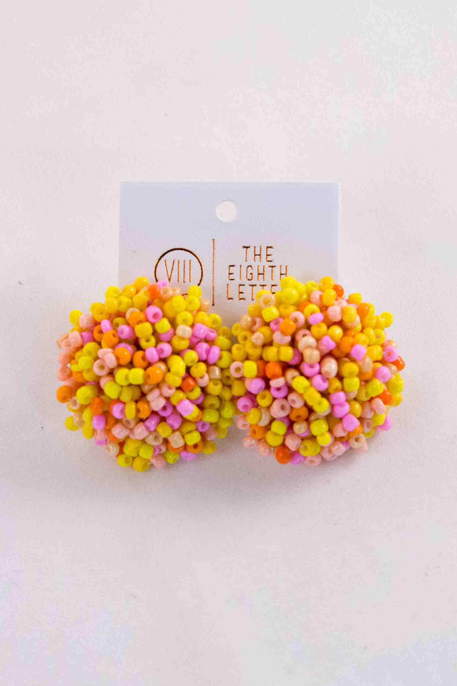 Freckle Earring - Pink