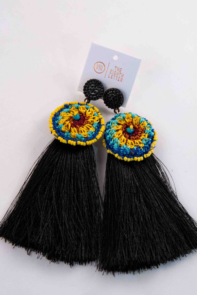 Pixie Earring - Black