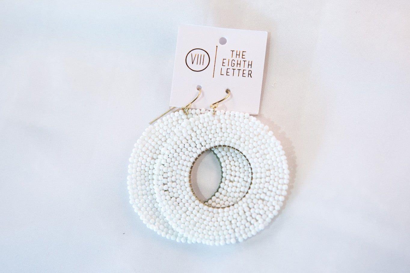 Cella Earring - White