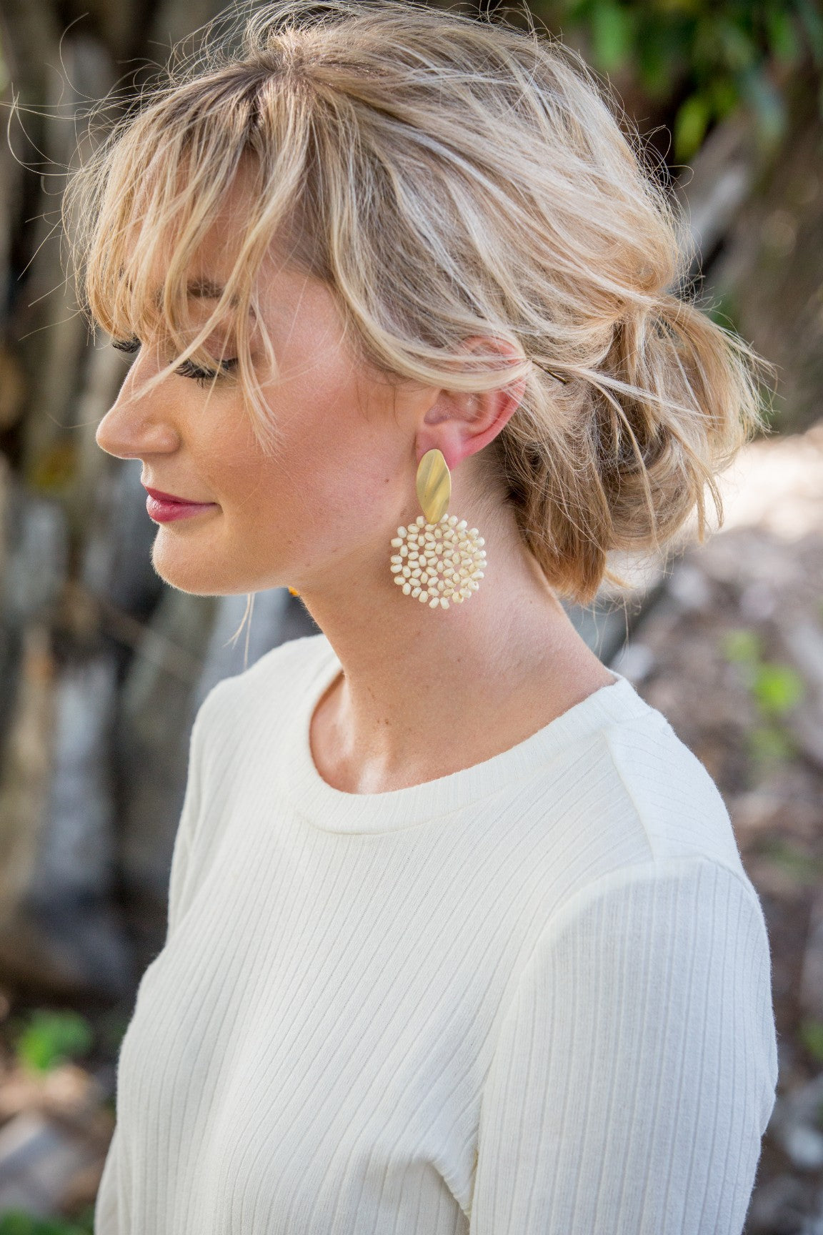 Ellery Earring - Natural