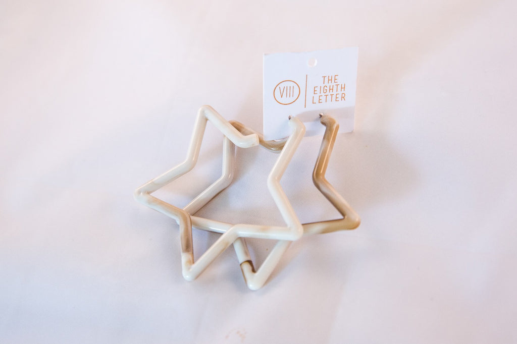 Starburst Earring - Natural
