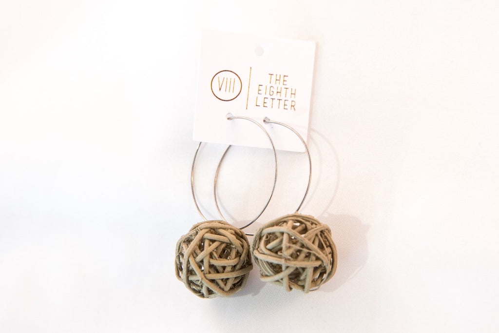 Nest Earring - Coffee