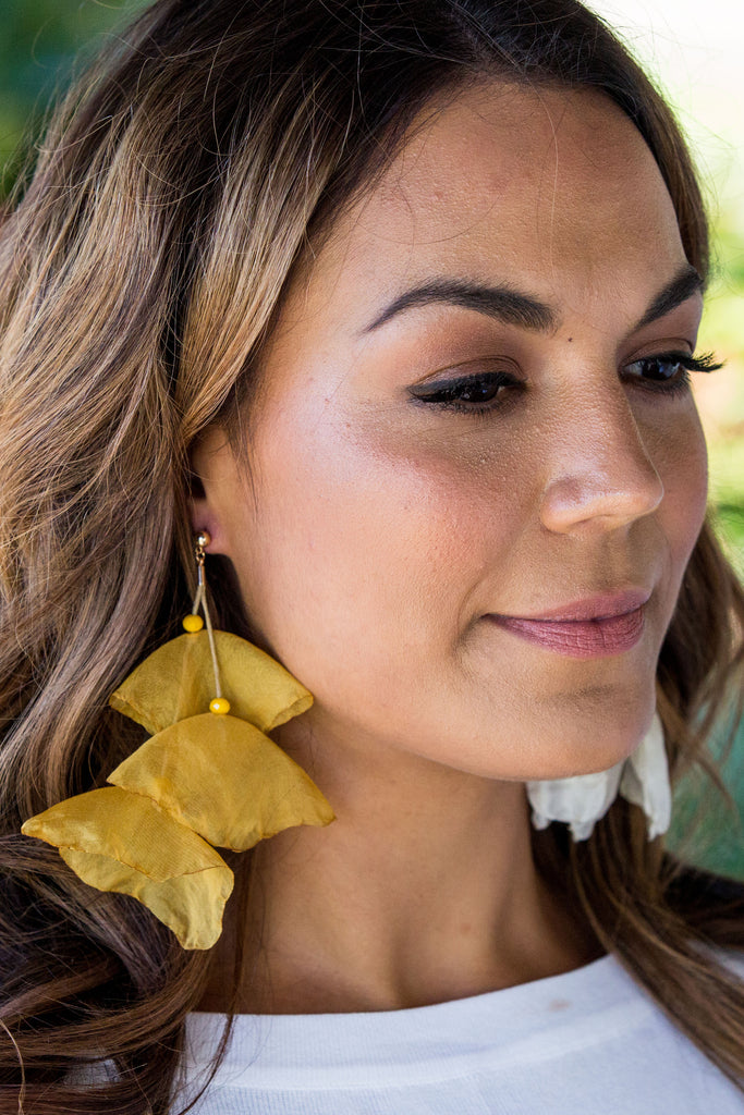 Florence Earring - Mustard