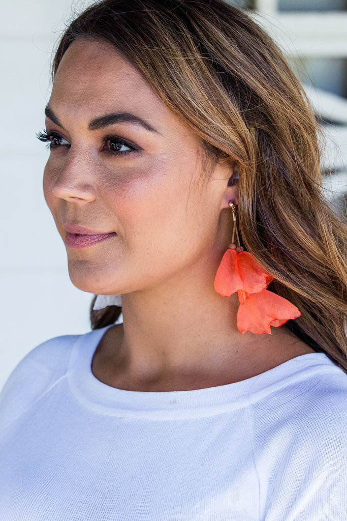 Florence Earring - Orange