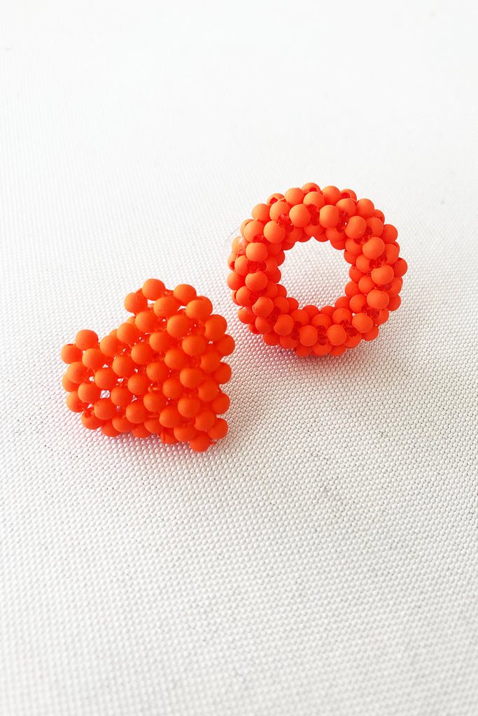 With Love Stud - Orange