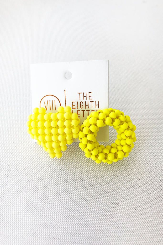 With Love Stud - Yellow