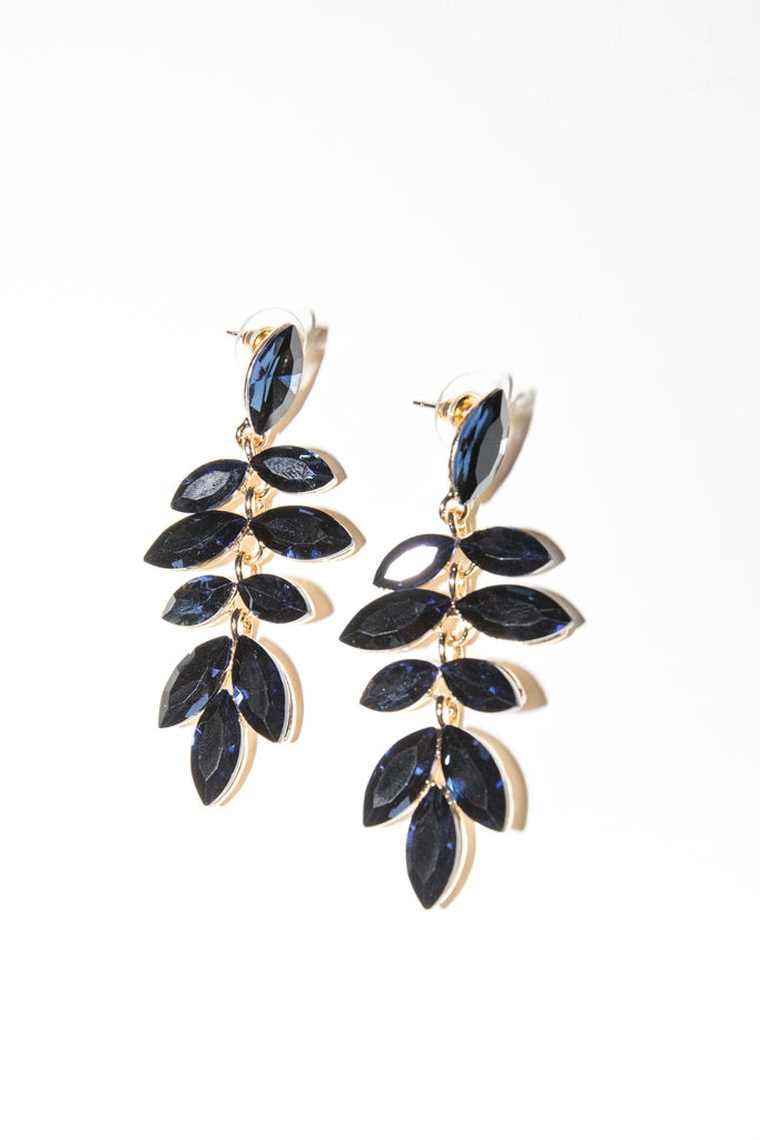 Camille Earring - Navy