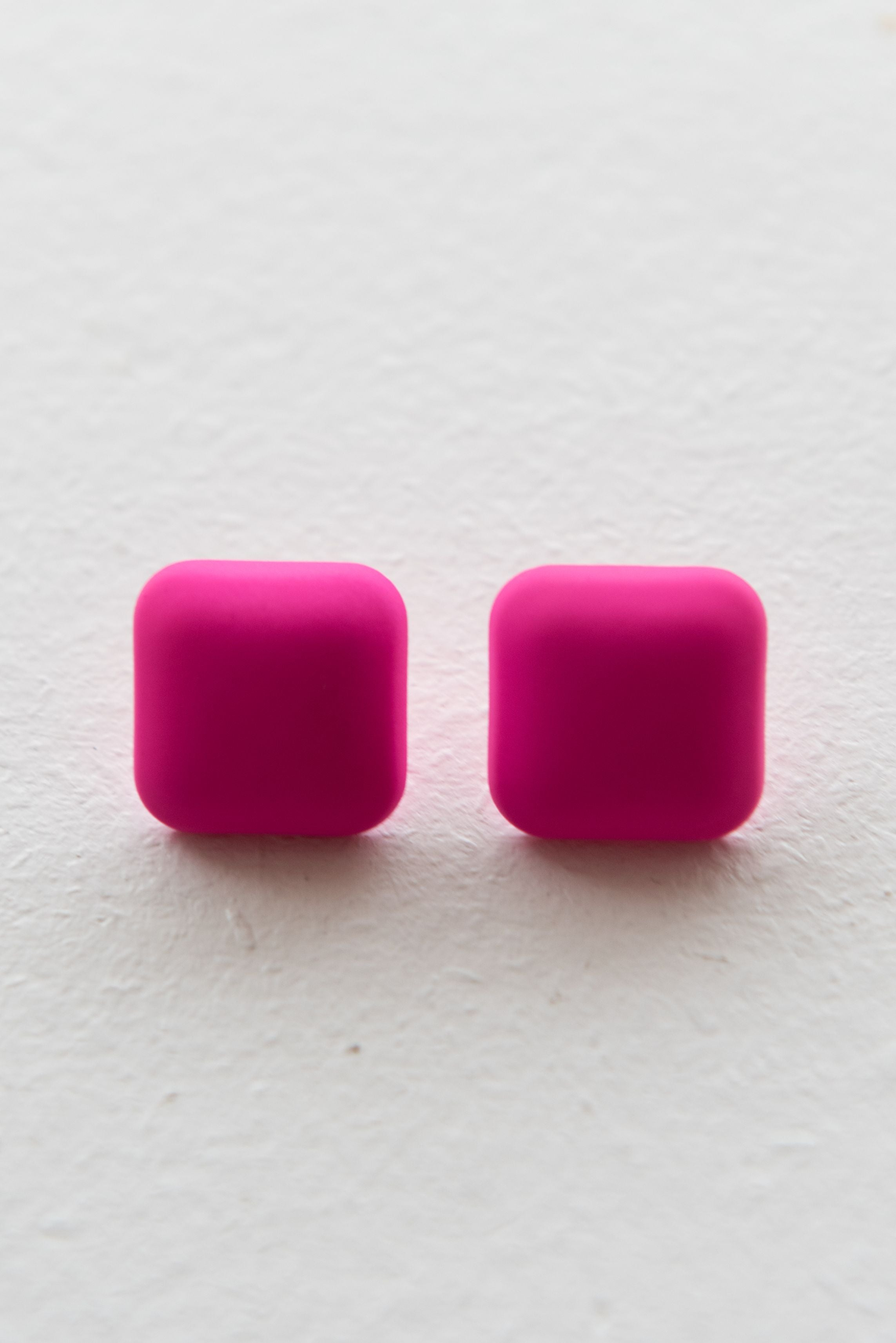 Helga Earring - Hot Pink