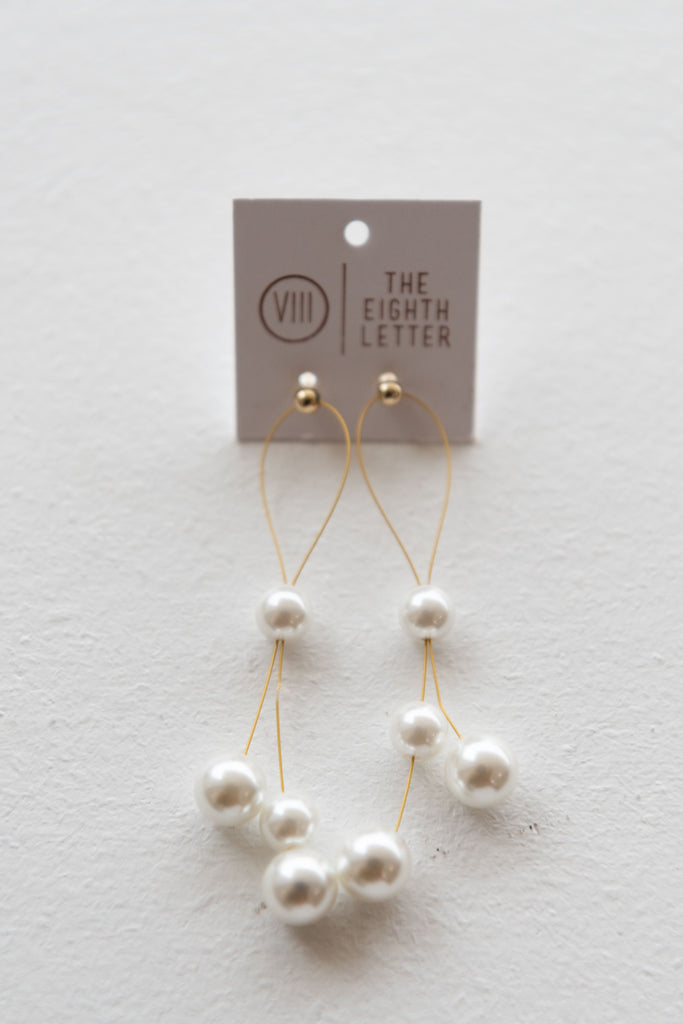 Blossom Earring - Pearl