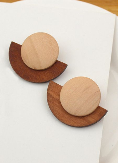 Mia Earring - Timber