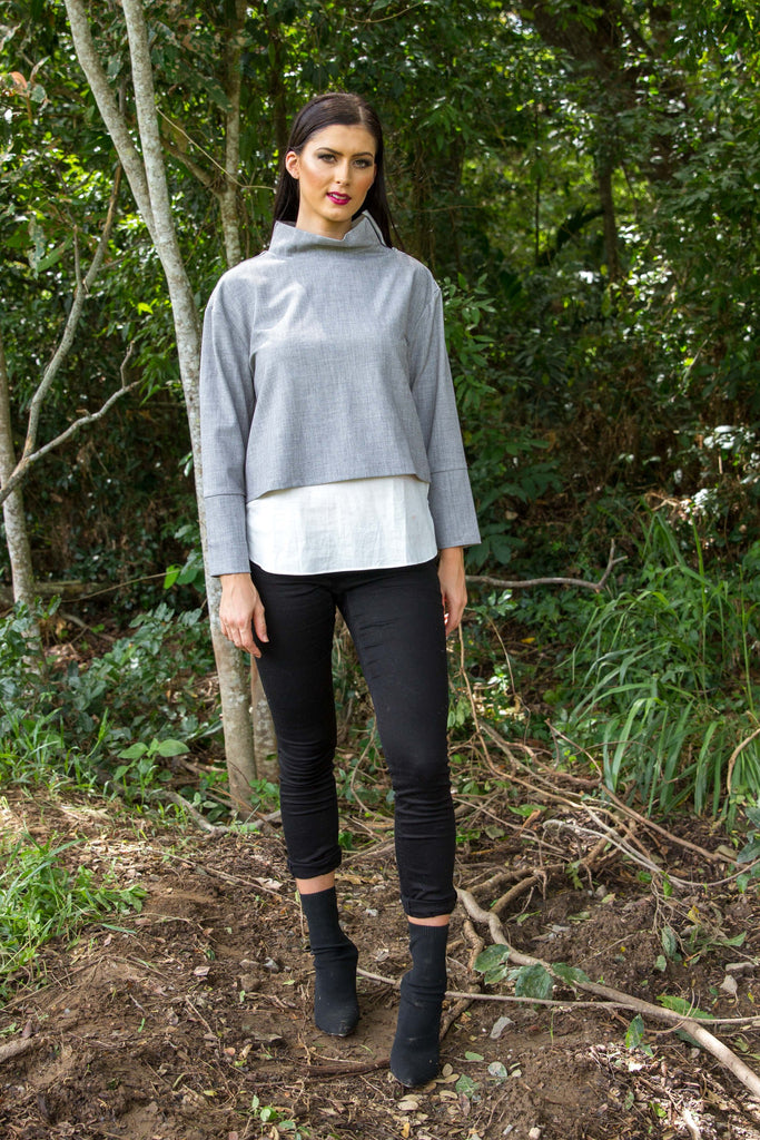 PIPPIN JUMPER - Pewter