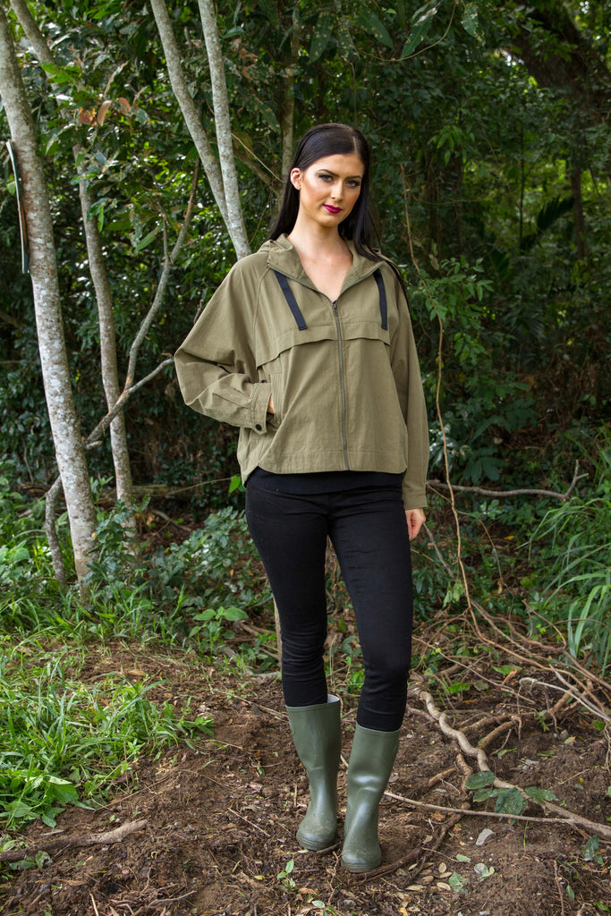 SCOUT BOMBER - Olive
