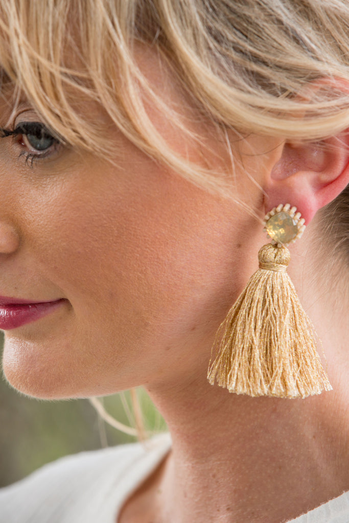Glisten Earring - Natural